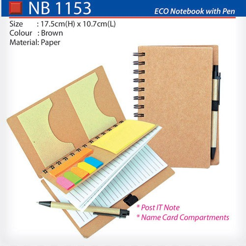 Eco Notebook set (NB1153)