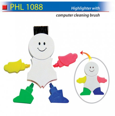 Highlighter with Cleaning Brush (PHL1088)