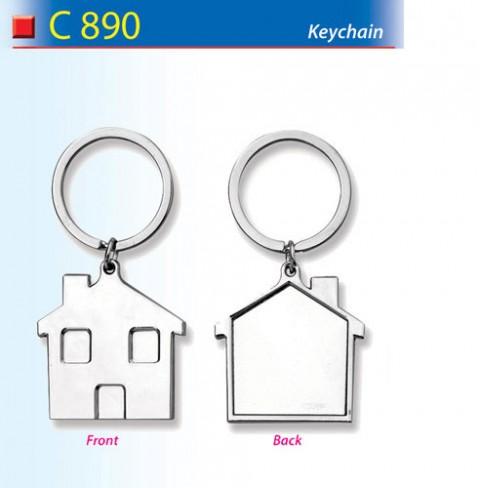 House Shaped Keychain (C890)