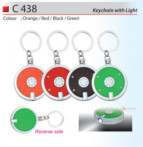 Keychain with Light (C438)