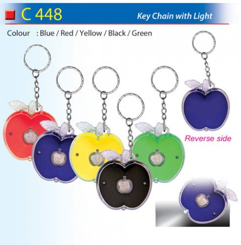 Keychain With Light (C448)