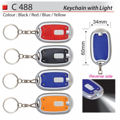 Keychain With Light (C488)