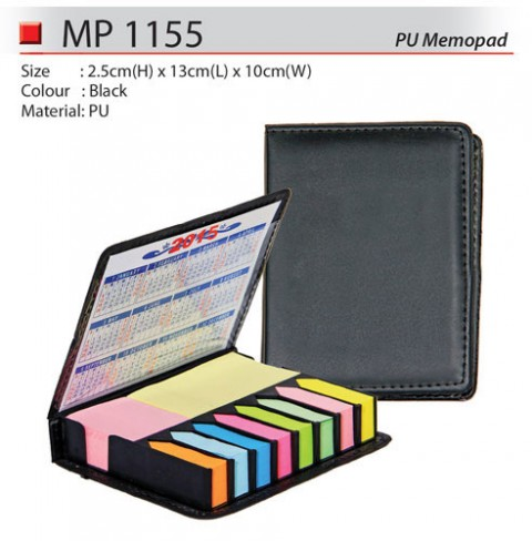 Memo pad with Sticky Note (MP1155)