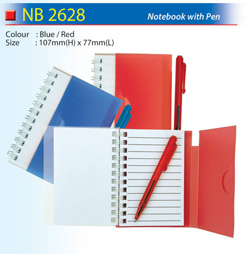 Notebook with Pen (NB2628)