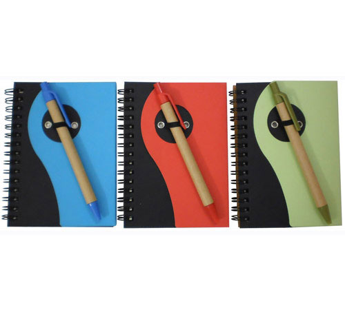 Notebook with Recycle Pen (BM271)