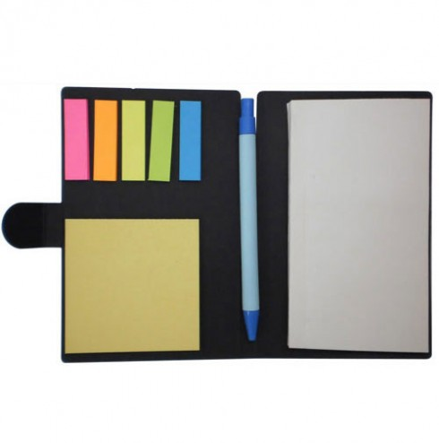 Notepad with Pen & Sticky Note (BM2108) open view