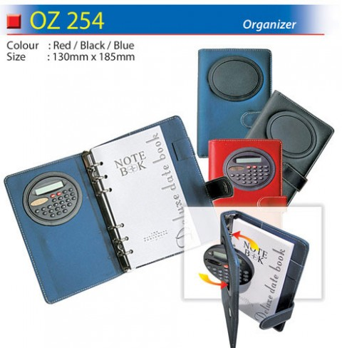 Organizer with Calculator (OZ254)