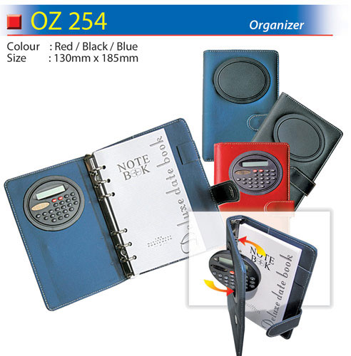 Organizer with Calculator (OZ254)