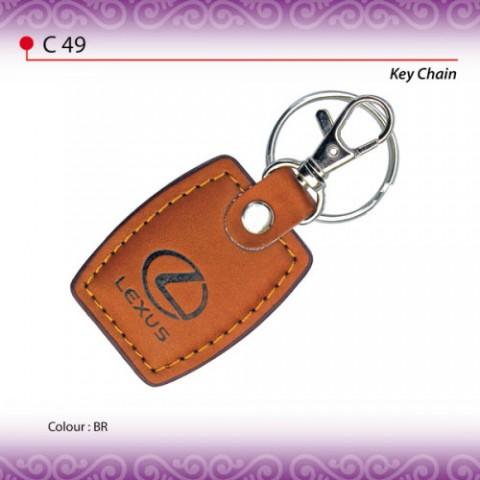 PU Leather Keychain (C49)