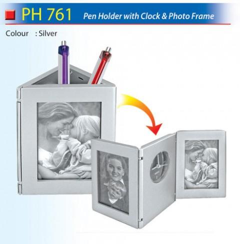 Pen Holder with Clock (PH761)