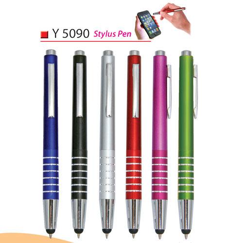 Plastic Pen with Stylus (Y5090)