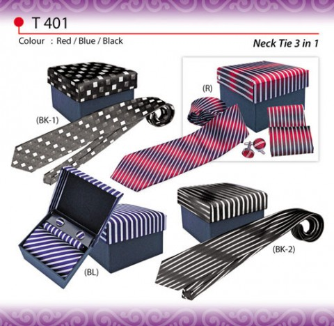 Ready Made Necktie with Box (T401)