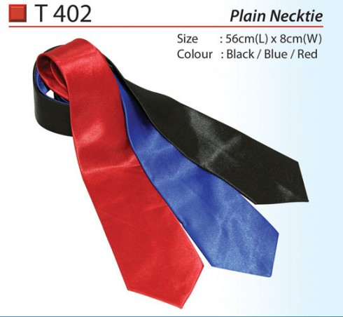 Ready Made Plain Necktie (T402)