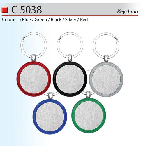Round Metal Key chain (C5038)