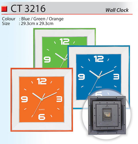 Trendy Wall Clock (CT3216)