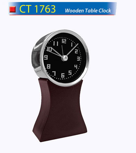 Wooden Table Clock (CT1763)