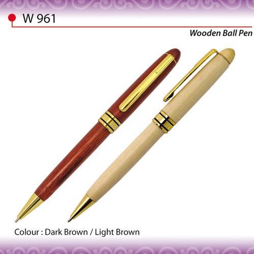Wooden Ball Pen (W961)