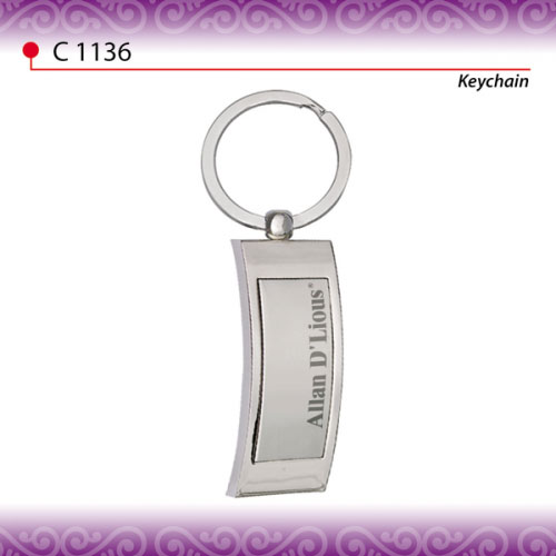 Branded Metal Keychain (C1136-AD)