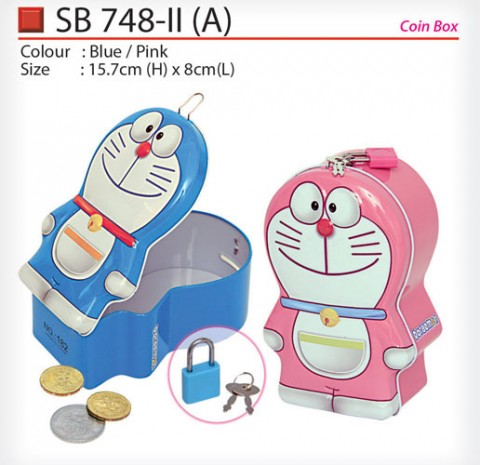 Doraemon Coin Box (SB748-IIA)