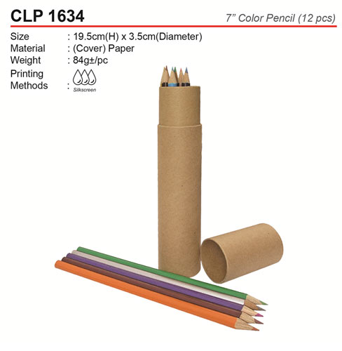 Round Shape Color Pencil (CLP1634)