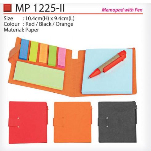 Eco memopad with Pen (MP1225-II)
