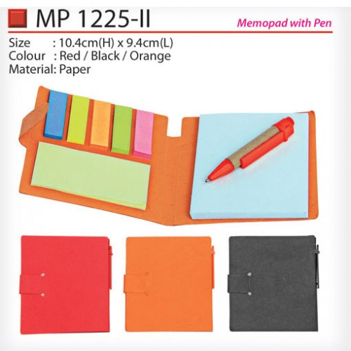 Eco memopad with Pen (MP1225-II)