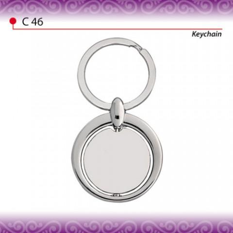 Elegant Round Shaped Keychain (C46)