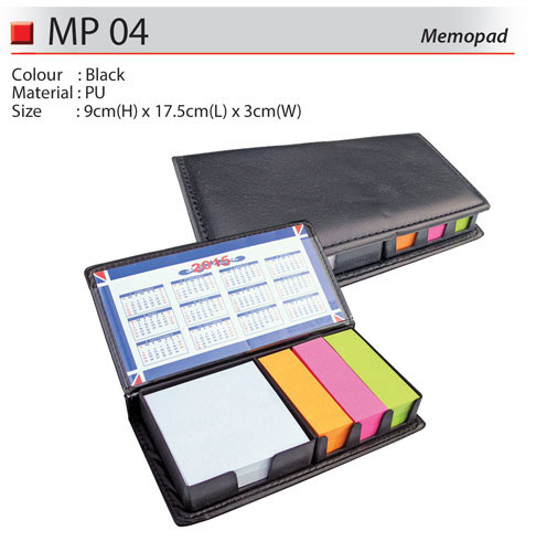 Memobox with Sticky Note (MP04)