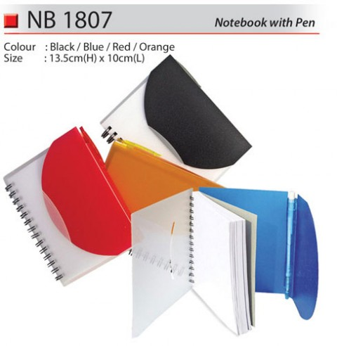 Notebook with Pen (NB1807)