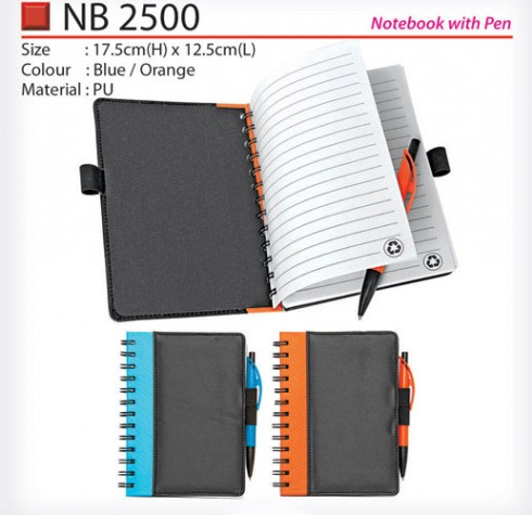 Notebook with Pen (NB2500)