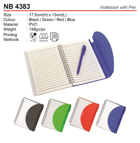 Classic Notepad with Pen (NB4383)