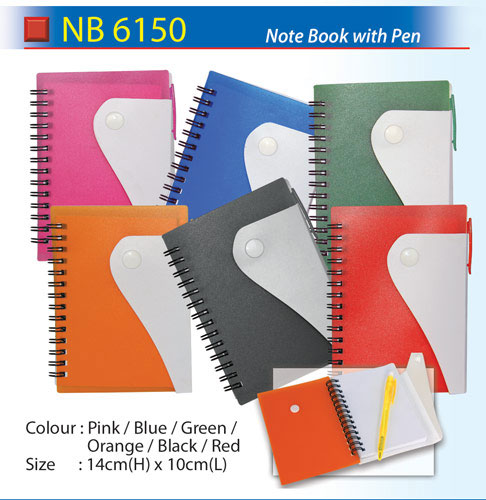 Notepad with Pen (NB6150)