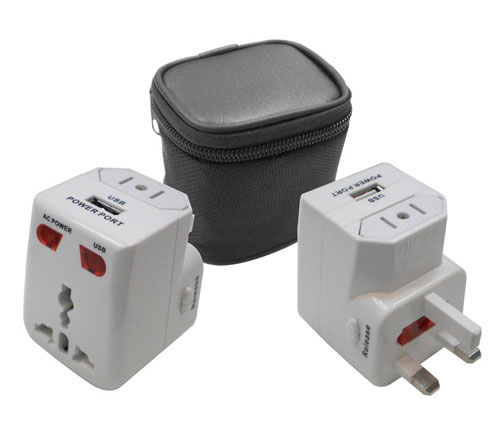 Travel Adapter with USB (TA88)