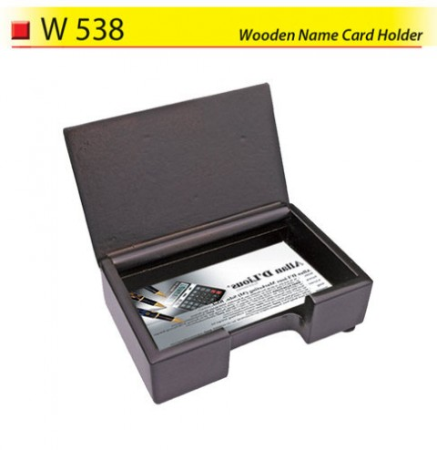 Wooden Name Card Holder (W538)