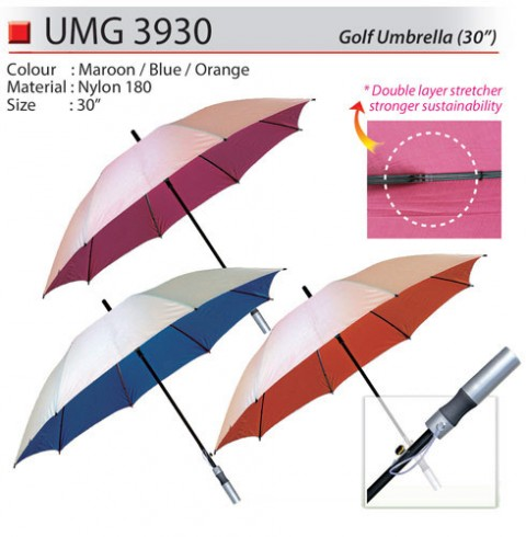 30 inch Golf Umbrella (UMG3930)