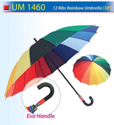 30 inch Rainbow Umbrella (UM1460)