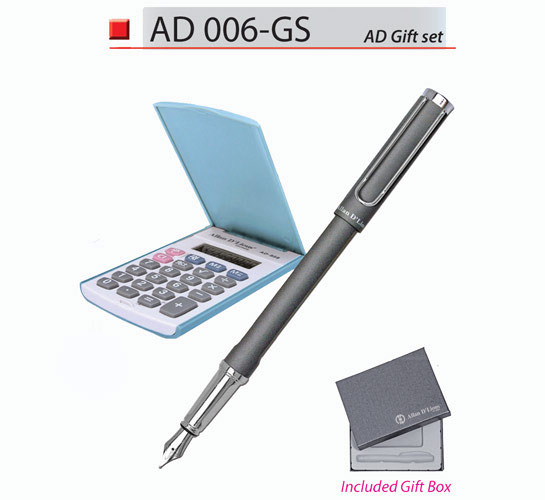 Calculator with Pen Set (AD006-GS)