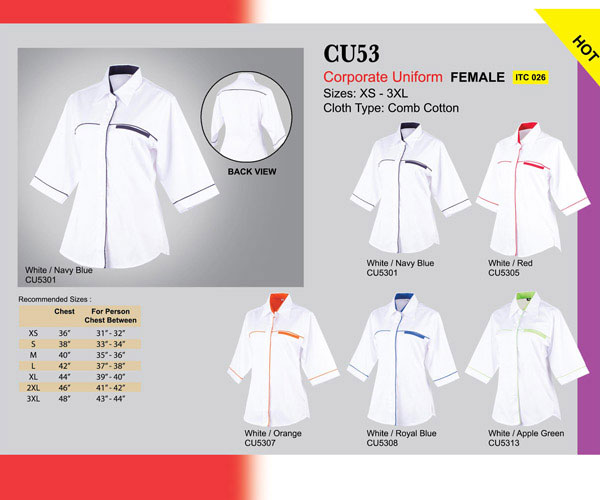 Corporate Uniform Female (CU53)