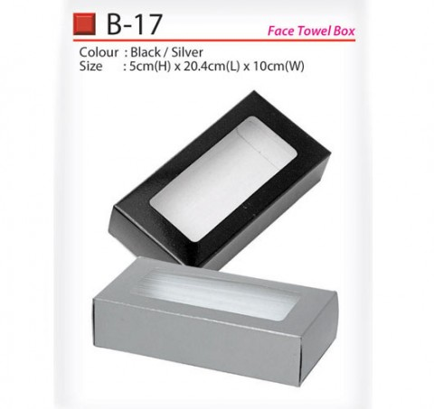 Face Towel box (B-17)
