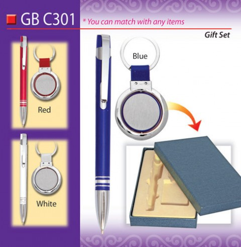 Metal Pen and Keychain Set (GBC301)