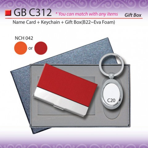 Name Card Holder with Keychain set (GBC312)