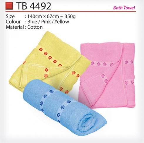 Pattern Bath Towel (TB4492)