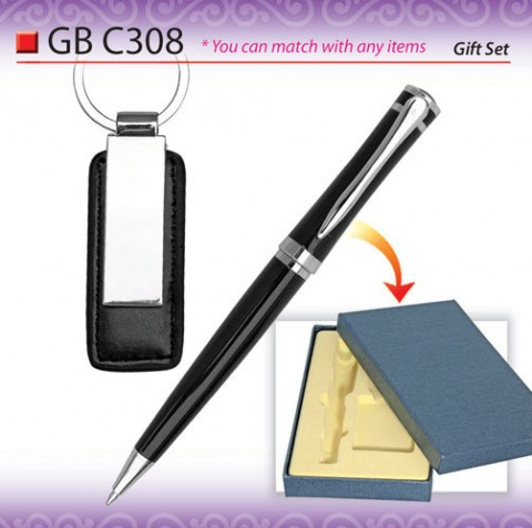 Pen with PU Keychain (GBC308)