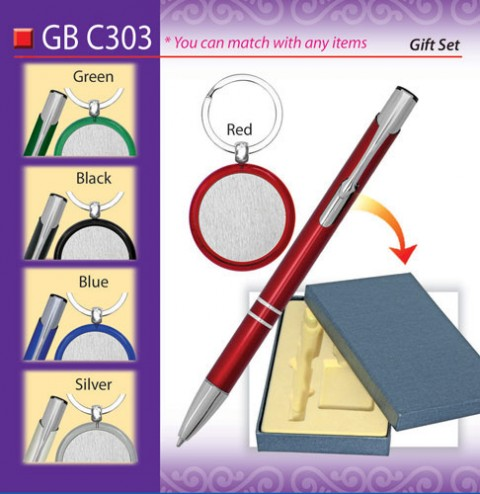 Pen with Keychain Set (GBC303)