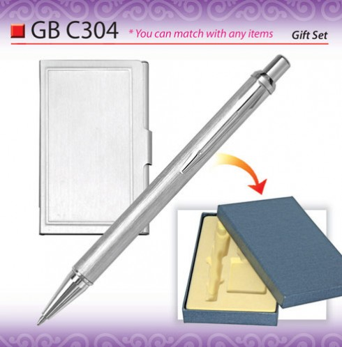 Pen with Name Card Holder (GBC304)