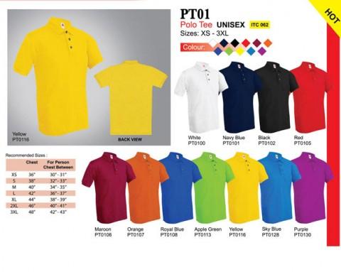 Plain Collar Shirt (PT01)