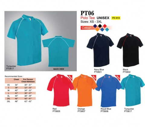 V-Neck Polo T Shirt (PT06)