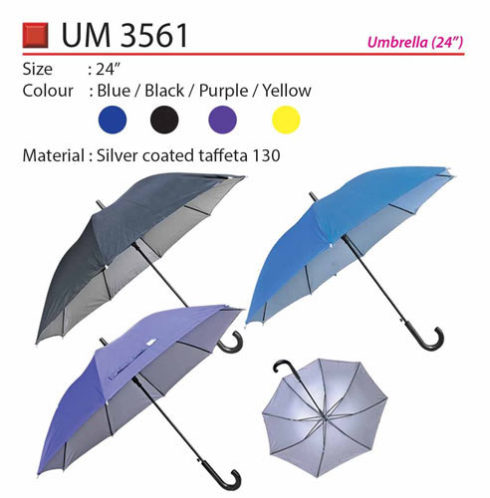 24 inch solid color umbrella (UM033-II)