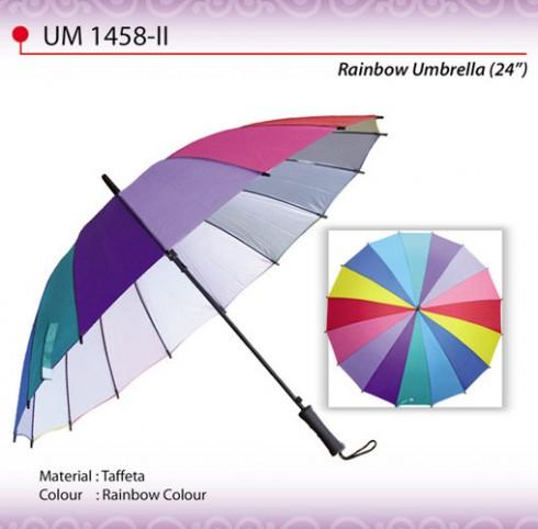 Straight Handle Rainbow Umbrella (UM1458-II)