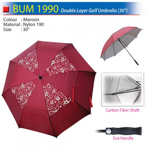 Double Layer Golf Umbrella (BUM1990)